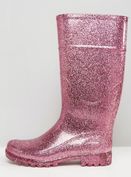 b527f53067e0 ASOS Are Selling Glitter Wellies That Light-Up, And They're Cool AF