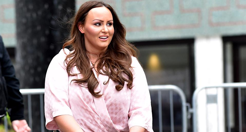 Chanelle Hayes has revealed she has undergone a hair transplant after yo you dieting impacted hair loss. (Getty Images)