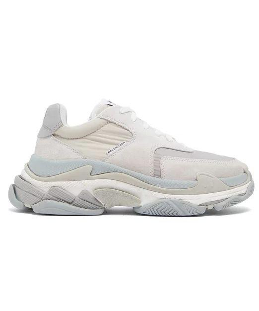 huge discount b0471 92cec The hype  You didn t think you d get through a most-wanted dad-sneaker  slideshow without hitting a Triple S, did you  Whether or not you like the  all-in-one ...