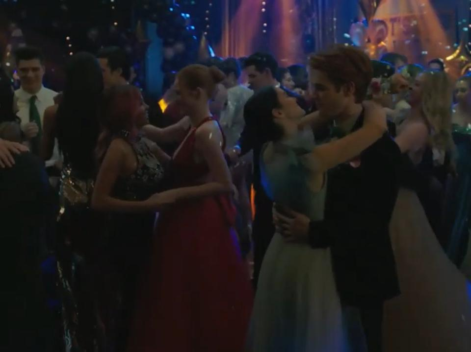 A still from the latest episode of Riverdale (The CW)