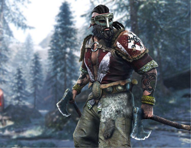 For Honor's Berzerker hero.