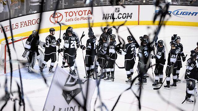 Kings sound desperate to hold Stanley Cup again after winning Game 7 thriller over Sharks