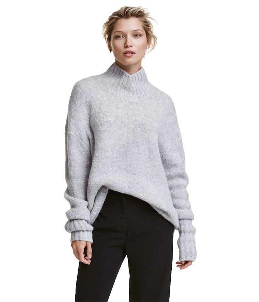 "<p><b>Under $50</b></p><p><b>H&M </b>Knit Turtleneck Sweater, $34.99, <a href=""http://www.hm.com/us/product/54702?article=54702-C"">HM</a></p>"