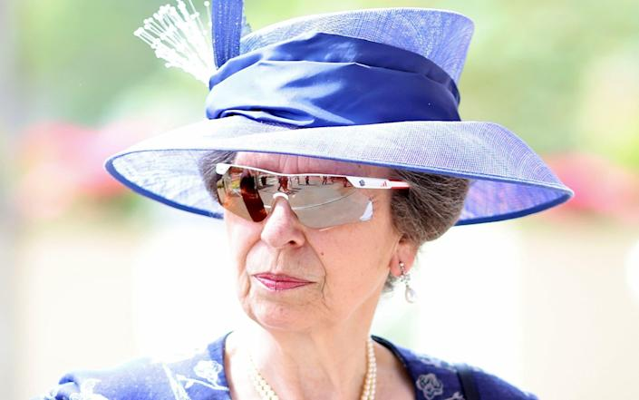 The Princess Royal arrives for day one of Royal Ascot - Chris Jackson/Getty Images
