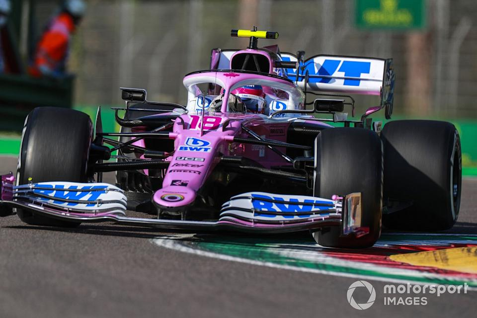 """Lance Stroll, Racing Point RP20 <span class=""""copyright"""">Steven Tee / Motorsport Images</span>"""