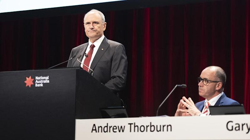 NAB chairman Ken Henry and CEO Andrew Thorburn had been under pressure since the royal commission