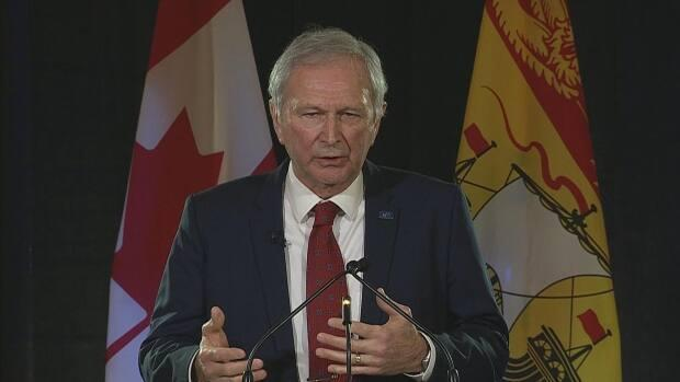 Premier Blaine Higgs gave his state of the province speech Wednesday.