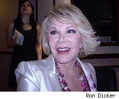 Joan Rivers dishes on her finances