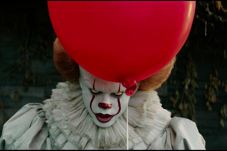 """<p><strong><em>It</em></strong></p><p>A shape-shifting clown terrorizes the children of a small town in Maine. The film, based on the novel by Stephen King, is the highest-grossing horror film in history, raking in over $700 million.<br></p><p><a class=""""link rapid-noclick-resp"""" href=""""https://www.amazon.com/Jaeden-Lieberher/dp/B0756VMDV5/?tag=syn-yahoo-20&ascsubtag=%5Bartid%7C10055.g.29120903%5Bsrc%7Cyahoo-us"""" rel=""""nofollow noopener"""" target=""""_blank"""" data-ylk=""""slk:WATCH NOW"""">WATCH NOW</a></p>"""