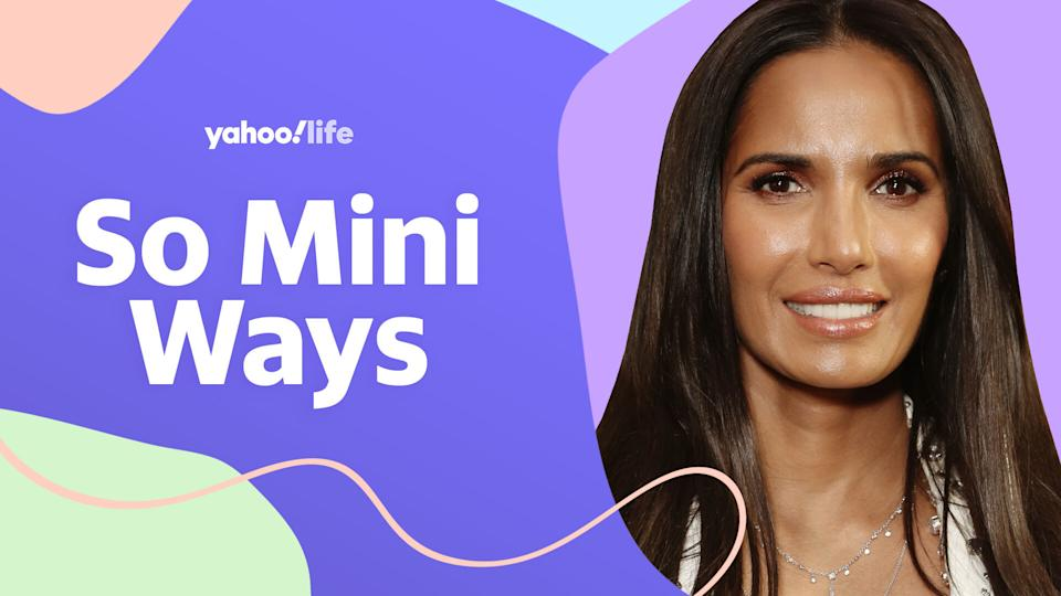 Padma Lakshmi opens up about her daughter, Krishna, and her new children's book, Tomatoes for Neela. (Photo: Getty; designed by Quinn Lemmers)
