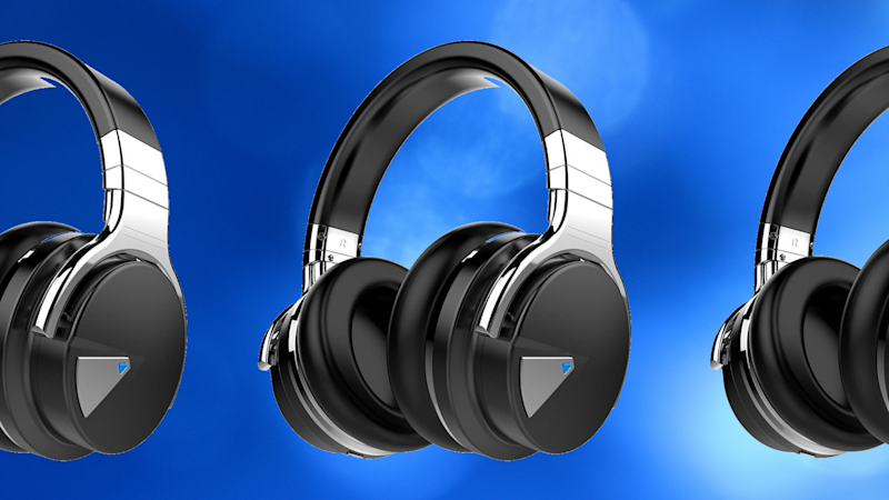 These shiny COWIN E7 Active Noise Cancelling Headphones are on sale for just $54. (Photo: COWIN)