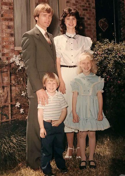 PHOTO: Lance Bass pictured as a child at a family Easter celebration. (Lance Bass)