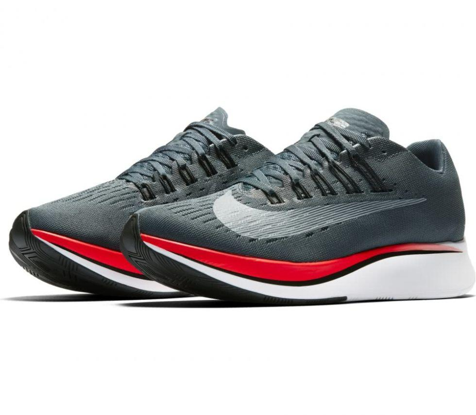 """<p><span>Nike's groundbreaking new running shoe, the Zoom Fly is supposed to shave SECONDS off your 10k time. If you're not interested in any of that running business, they're also gaining traction as one of Nike's next big streetwear shoes; their chunky soles and sleek construction both very much in trend right now.</span></p><p><em>Nike Zoom Fly, £129.95, <a rel=""""nofollow"""" href=""""https://store.nike.com/gb/en_gb/pd/zoom-fly-running-shoe/pid-11792718/pgid-12169972"""">nike.com</a></em></p>"""