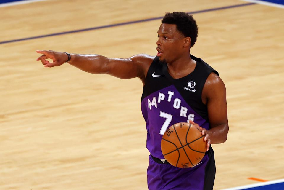 Kyle Lowry is among the few All-Stars likely to change teams this summer. (Rich Schultz/Getty Images)