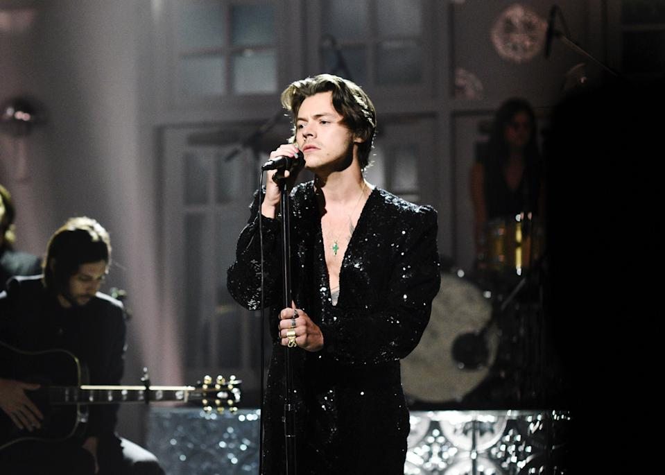 Fans are freaking out after getting a sneak peek into Harry Styles' upcoming album artwork. (Photo: Getty Images)
