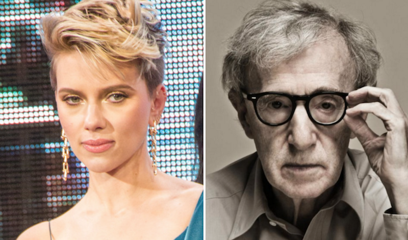 "Scarlett Johansson on Woody Allen: ""I believe him, and I would work with him any time"""