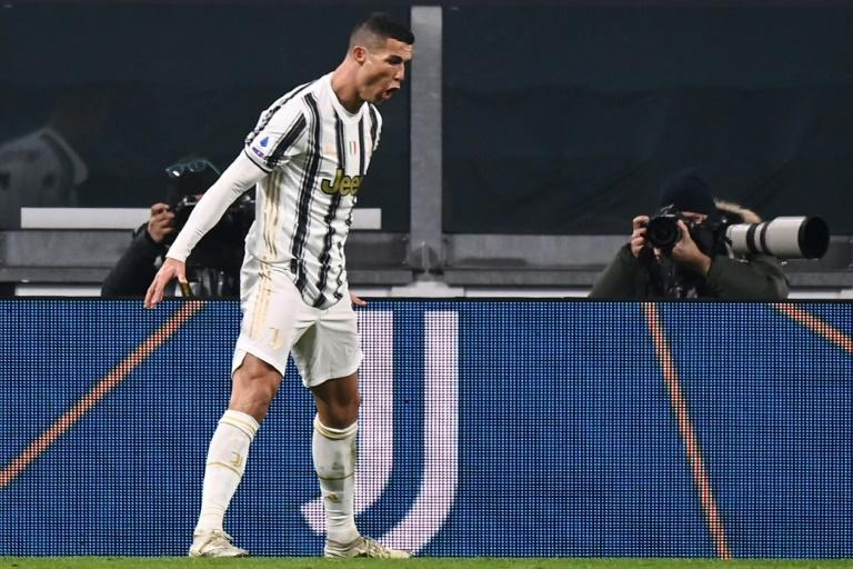 Cristiano Ronaldo has scored 14 of Juventus's 29 league goals this season.