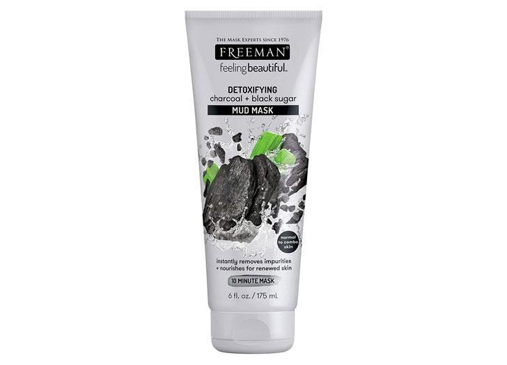 """<p>This mask features black sugar to help skin hold onto hydration, while activated charcoal locks onto oils and toxins, then gently lifts them away without disturbing skin.</p> <p><a class=""""link rapid-noclick-resp"""" href=""""https://amzn.to/3e6op2X"""" rel=""""nofollow noopener"""" target=""""_blank"""" data-ylk=""""slk:$7 at Amazon"""">$7 at Amazon</a></p>"""