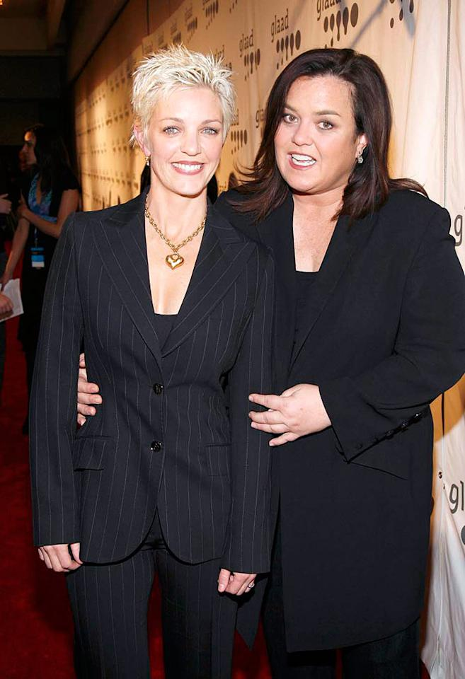 "Rosie O'Donnell says she won't remarry partner Kelli Carpenter until gay marriages are recognized nationwide. The couple wed in 2004, but their marriage was later ruled invalid by the California Supreme Court. The Court reversed its decision in May 2008, once again recognizing gay marriage. M. Von Holden/<a href=""http://www.wireimage.com"" target=""new"">WireImage.com</a> - February 24, 2008"