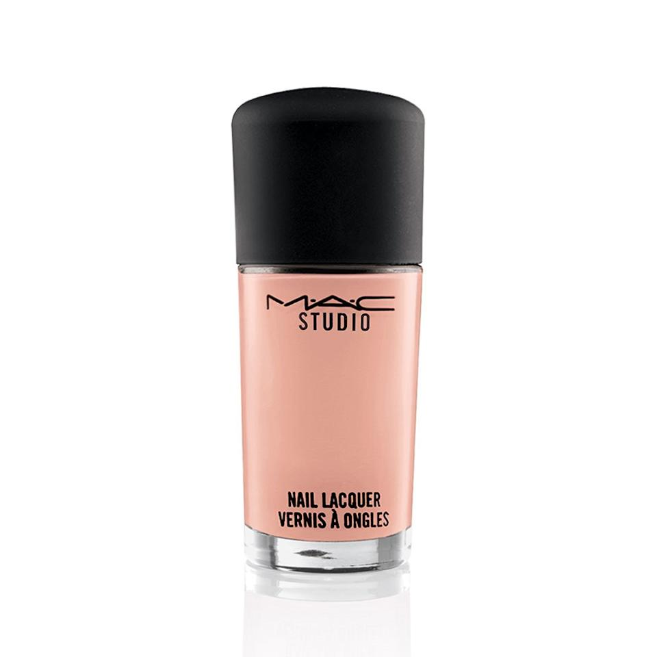 "<p>""I usually punch up my wardrobe with prints in the spring, so I tend to shy away from bright polishes. Peach is a nice alternative to just opting for beige. – Sharlyn Pierre, Researcher</p><p>MAC Nail Lacquer in Erogenous, $12, <a rel=""nofollow"" href=""http://www.maccosmetics.com/product/13855/31461/Products/Makeup/Nails/Lacquer/MAC-Studio-Nail-Lacquer?mbid=synd_yahoolife"">maccosmetics.com.</a></p>"