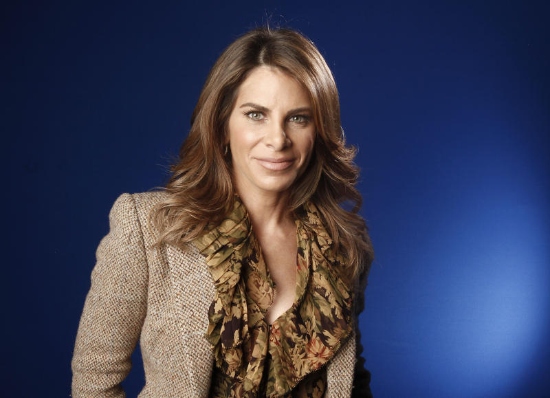 "FILE - This Jan. 6, 2012 file photo shows fitness guru Jillian Michaels in New York. Michael, a fitness coach on NBC's ""The Biggest Loser,"" has a new book, ""Slim for Life: My Insider Secrets to Simple, Fast and Lasting Weight Loss."" (AP Photo/Carlo Allegri, file)"
