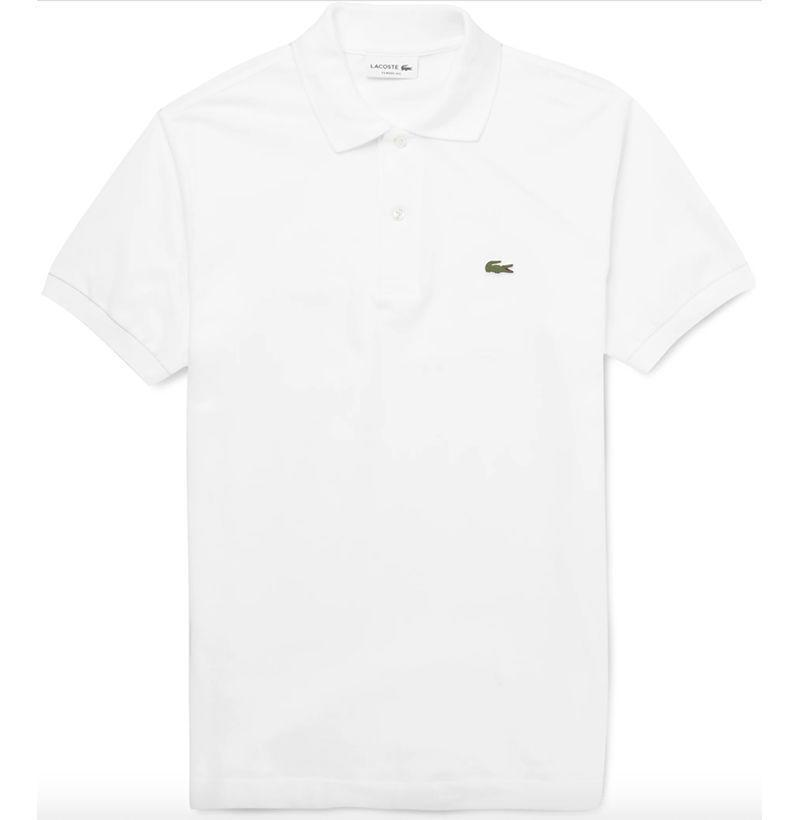 "<p><strong>Lacoste</strong></p><p>mrporter.com</p><p><strong>$90.00</strong></p><p><a href=""https://go.redirectingat.com?id=74968X1596630&url=https%3A%2F%2Fwww.mrporter.com%2Fen-us%2Fmens%2Fproduct%2Flacoste%2Fclothing%2Fshort-sleeve-polo-shirts%2Flogo-appliqued-cotton-pique-polo-shirt%2F9679066509523356&sref=https%3A%2F%2Fwww.esquire.com%2Fstyle%2Fmens-fashion%2Fadvice%2Fg2964%2Fwhite-after-labor-day%2F"" rel=""nofollow noopener"" target=""_blank"" data-ylk=""slk:Buy"" class=""link rapid-noclick-resp"">Buy</a></p><p>White polos are just as good worn alone in the summer as they are layered in the fall. Button it up and wear it under a lightweight jacket when the weather gets cool. </p>"