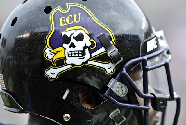 East Carolina is 2-3 this season. (Photo by Michael Shroyer/Getty Images)