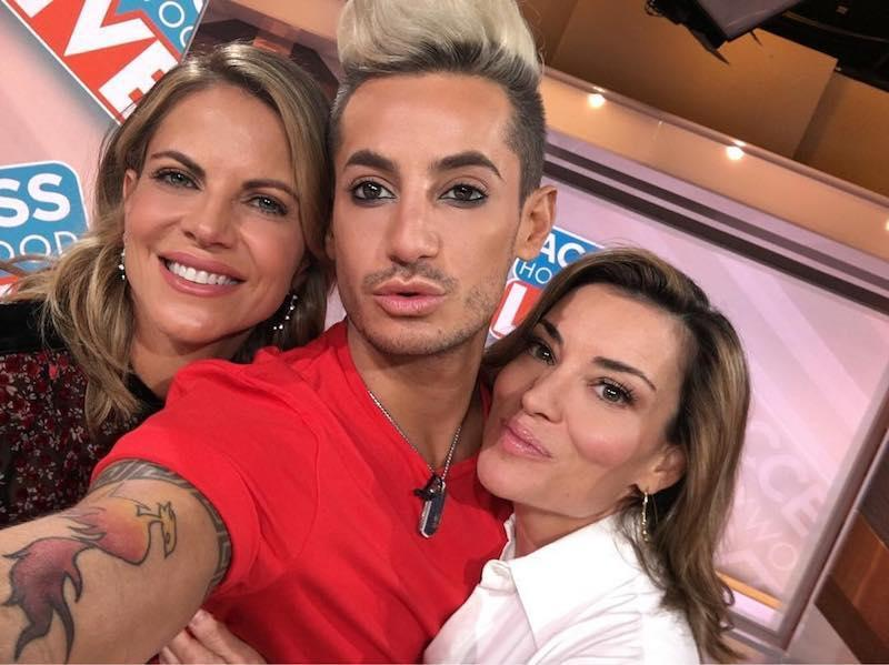 """<p>Chillin' with my girls @kithoover & @nmoralesnbc at @accesshollywood! #LiveAndDangerous #HenryDanger #Frankini — @frankiejgrande (Photo: Frankie Grande via <a rel=""""nofollow"""" href=""""https://www.instagram.com/p/BY8pxDNjEqx/?taken-by=yahootv"""">Instagram</a>) </p>"""