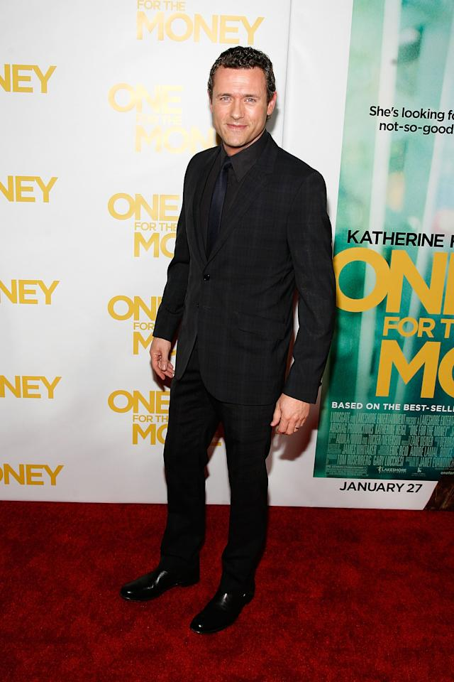 "NEW YORK, NY - JANUARY 24:  Jason OÕMara attends the ""One for the Money"" premiere at the AMC Loews Lincoln Square on January 24, 2012 in New York City.  (Photo by Andy Kropa/Getty Images)"