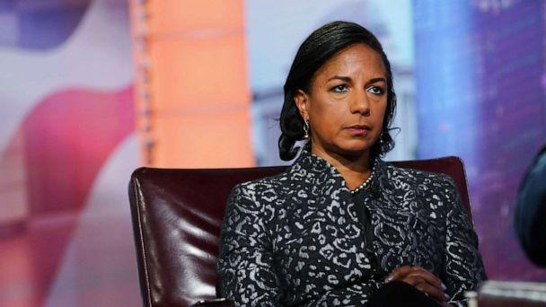 PHOTO: Susan Rice is seen during a Bloomberg Television interview in New York, on Oct. 8, 2019. Rice discussed her book 'Tough Love.' (Christopher Goodney/Bloomberg via Getty Images)