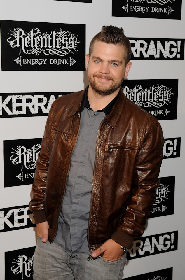 LONDON, ENGLAND - JUNE 09:  Jack Osborne arrives for The Reckless Energy Drink Kerrang! Awards at The Brewery on June 9, 2011 in London, England.  (Photo by Jim Dyson/Getty Images)