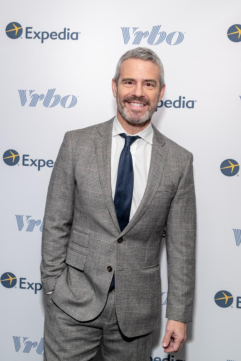 "Bravo host Andy Cohen said he was ""flattered to be in the same sentence as Adam Schiff."" (Photo: Expedia/Vrbo)"