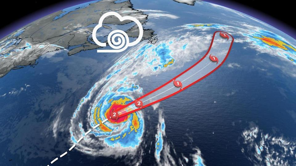 Hurricane Sam continues to churn, swells and winds expected in Newfoundland