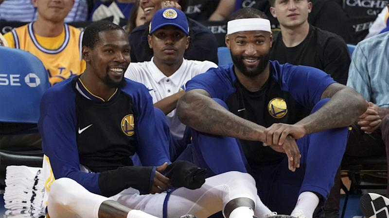 huge discount 3b5f3 bce46 DeMarcus Cousins calls Warriors  the most hated team in sports