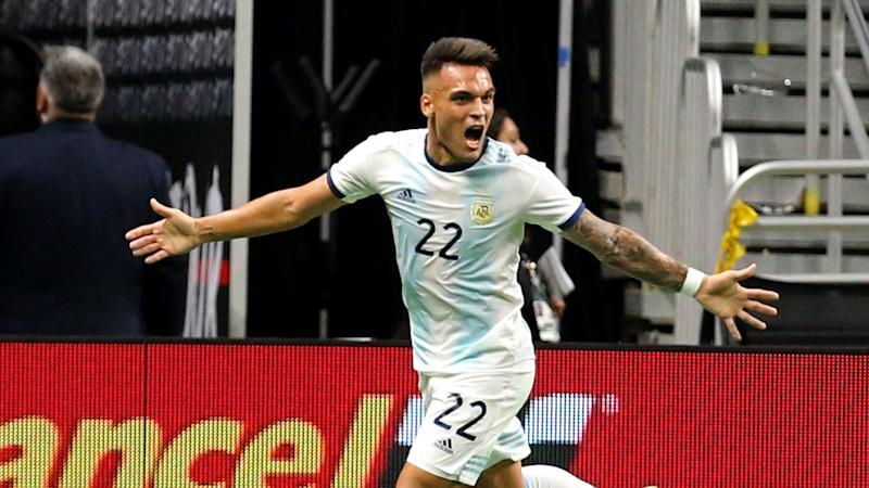 Martinez delighted after first Argentina hat-trick