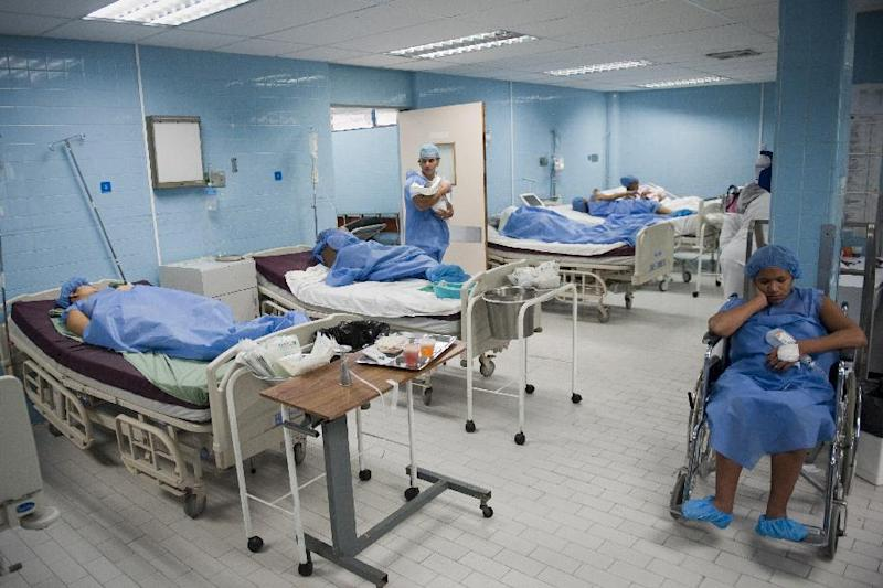 A maternity center in Caracas, on December 15, 2011