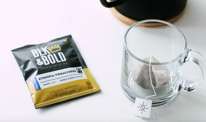 BLK & Bold x Steeped Partnership product image.