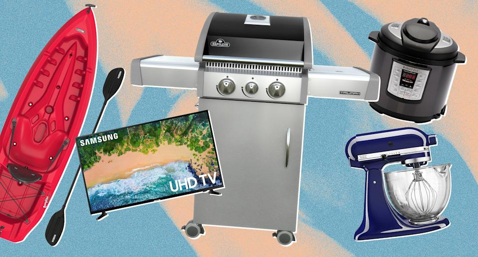 Walmart kicked off Memorial Day sales early. Shop the best deals now. (Photo: Walmart, Art: Yahoo Lifestyle photo-illustration)