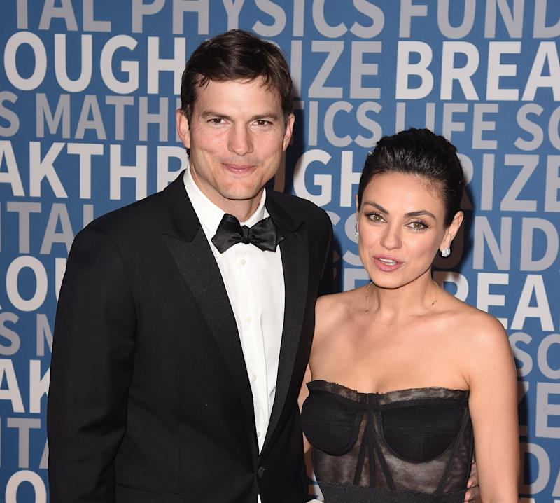 Ashton Kutcher and Mila Kunis respond to divorce rumour