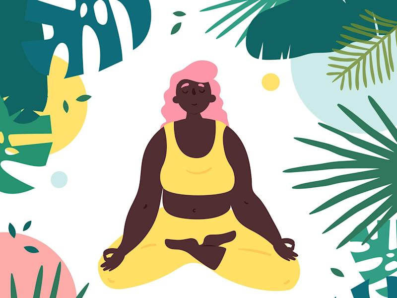 Get kitted out in the best comfortable clothing and equipment to practice yoga at home: iStock