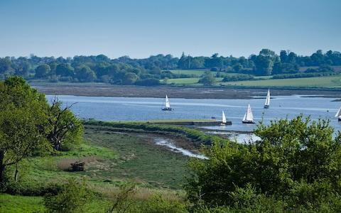 The estate is on the River Deben - Credit: Chris Rawlings
