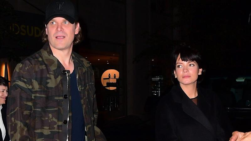 David Harbour and His Buff Arms Supported By Lily Allen at 'SNL' After-Party