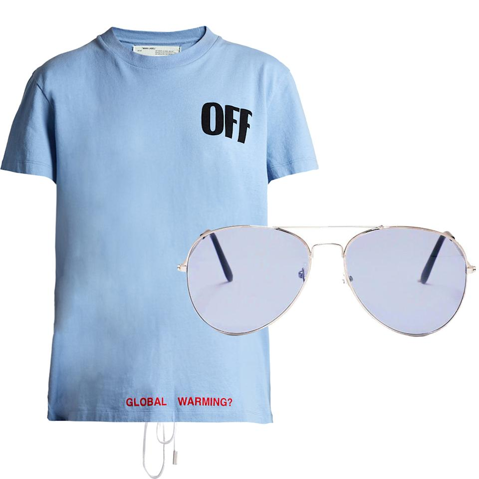 8 matching t shirt and sunglasses combos that will help for T shirt printing api
