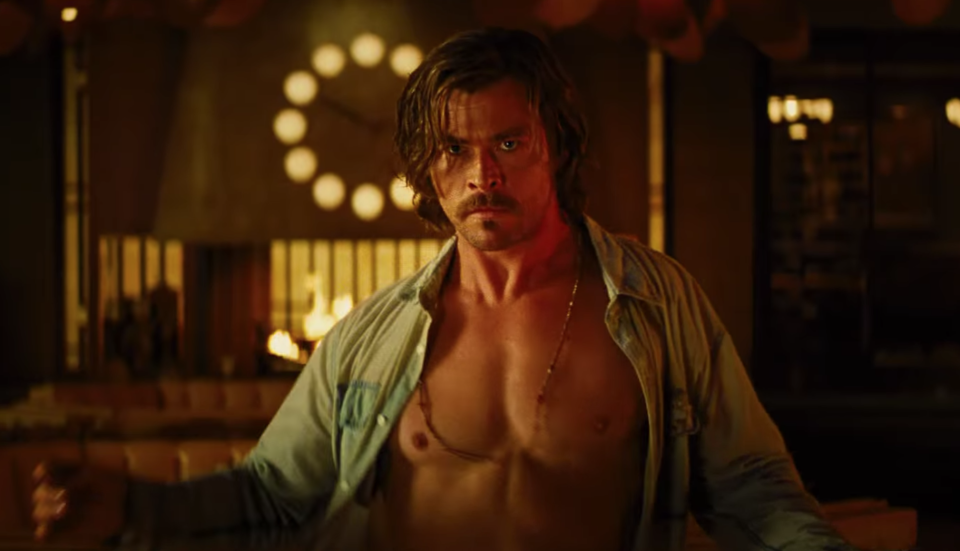 Chris Hemsworth turns to the dark side in the new trailer for <i>Bad Times at the El Royale</i> (20th Century Fox)