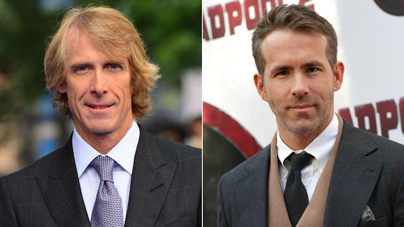 Ryan Reynolds Teams With 'Deadpool' Writers and Michael Bay for Netflix Movie