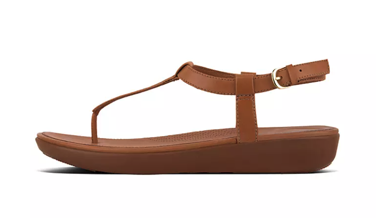 Tia Leather Sandals. Image via Fitflop.
