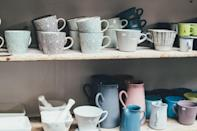 <p>Rather than having to make numerous returns, be sure to measure the height and width of your spaces before buying containers and storage items. When you know the dimensions that you are working with, you will make smarter purchases and are more likely to keep what you buy.</p>