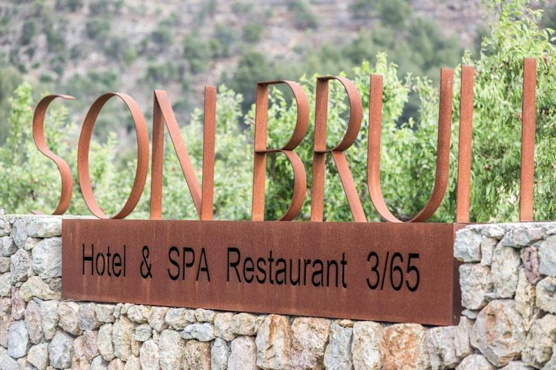 The hotel is nestled in the wild, mountainous region of northern Mallorca (Son Brull)