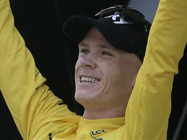 Chris Froome will ride in the Giro d'Italia this year and try to defend his Tour de France title even if an investigation into his adverse doping test is ongoing, the Briton said.