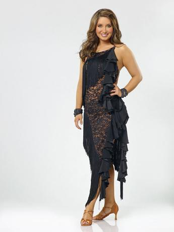 """Pre-Show: Palin won attention early on with her promise to wear modest costumes, and her leggy getup in the season's first publicity photos raised many a skeptical eyebrow. But compared to some other contestants' dresses, Bristol's was tame. <a href=""""http://www.thewrap.com/television/article/how-bristol-palin-made-it-dancing-finals-22756"""" rel=""""nofollow"""">Source: The Wrap</a>"""